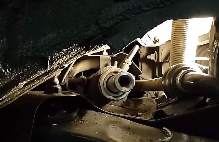 Втулка рулевой рейки на машине hyundai solaris